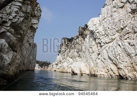 Marble Rocks At Bhedaghat
