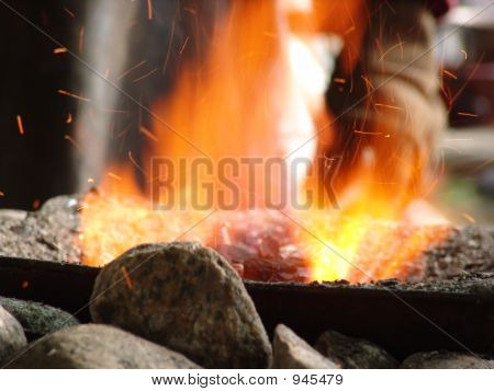 Schmiede Feuer