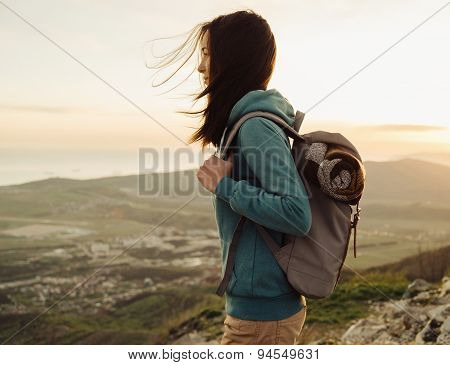 Hiker Young Woman
