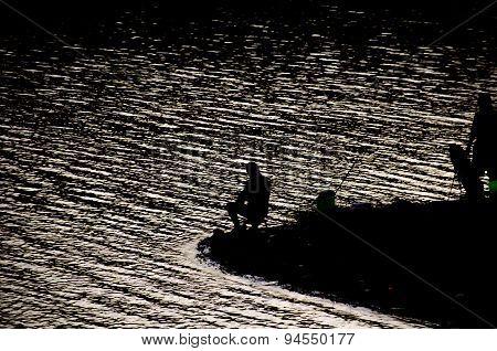 fishing man