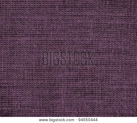Dark byzantium burlap texture background