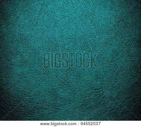 Dark cyan leather texture background