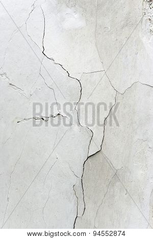 Cracks In Plaster - Grunge Texture