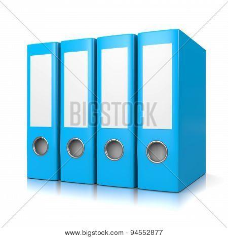 Blue Binders