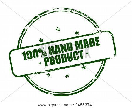 One Hundred Percent Hand Made Product