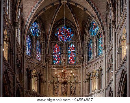 Inside Saint Catharine Church