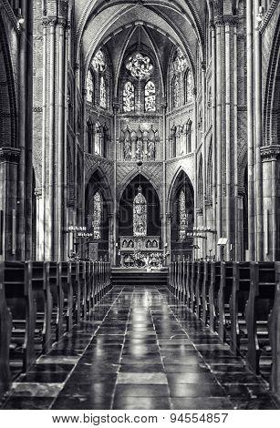 Inside Of Saint Catharine Church