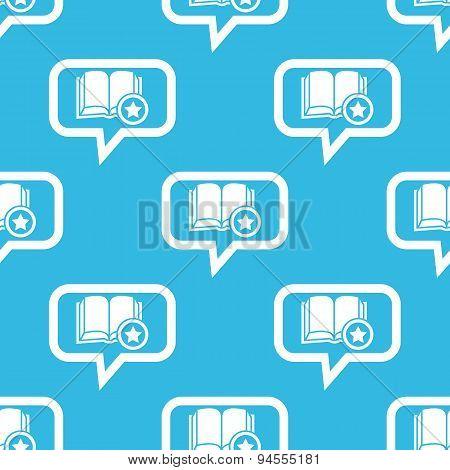 Favorite book message pattern