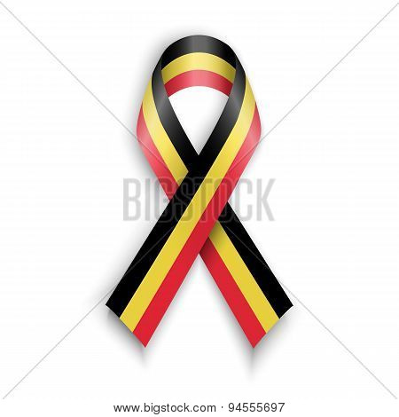 Abstract Belgian Ribbon Vector