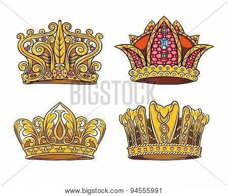 Four Royal crown