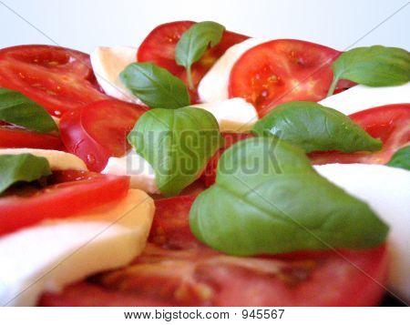 Mozzarella Teller
