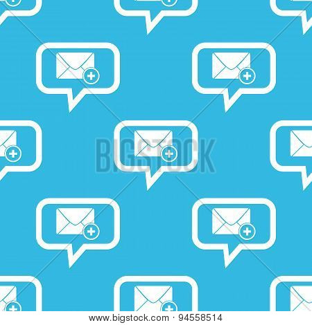 Add letter message pattern