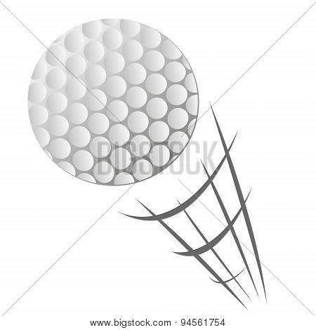 Speeding Golf Ball Motion
