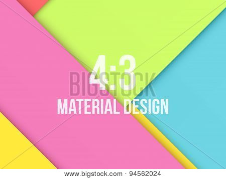 Color Background Unusual modern material design
