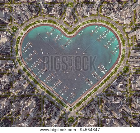 Heart Of City
