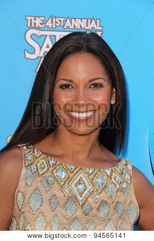 LOS ANGELES - JUN 25:  Salli Richardson at the 41st Annual Saturn Awards Arrivals at the The Castaways on June 25, 2015 in Burbank, CA
