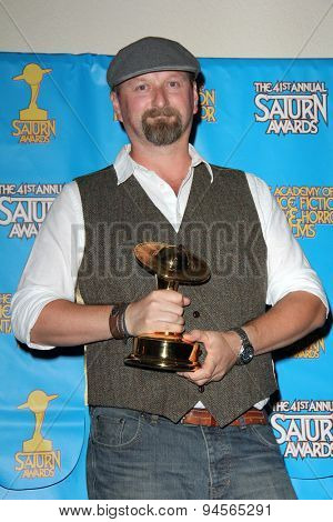 LOS ANGELES - JUN 25:  Neil Marshall at the 41st Annual Saturn Awards Press Room at the The Castaways on June 25, 2015 in Burbank, CA