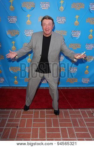 LOS ANGELES - JUN 25:  Larry Cohen at the 41st Annual Saturn Awards Arrivals at the The Castaways on June 25, 2015 in Burbank, CA