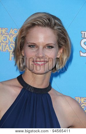 LOS ANGELES - JUN 25:  Joelle Carter at the 41st Annual Saturn Awards Arrivals at the The Castaways on June 25, 2015 in Burbank, CA