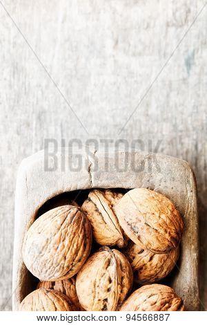 Food Background, Walnuts.