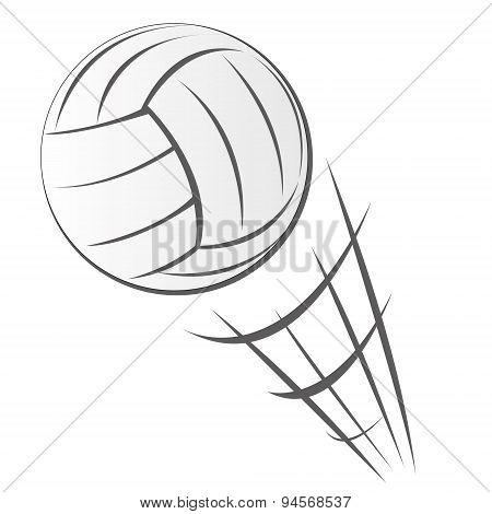 Speeding Volleyball Motion