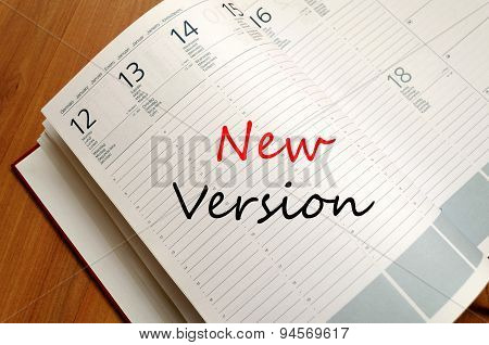 New Version Concept Notepad