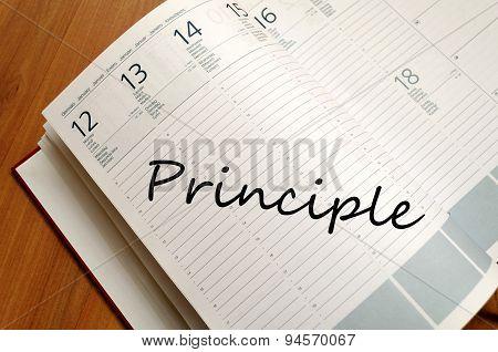 Principle Text Concept