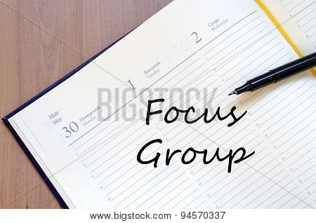 Focus Group Text Concept