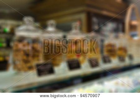 Restaurant blur background