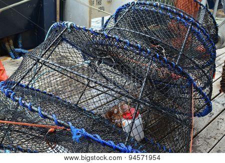 Alaskan Spot Prawn Traps