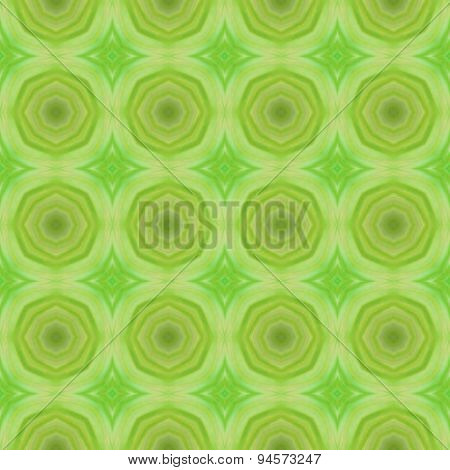 Abstract Green Circular Pattern Made Seamless