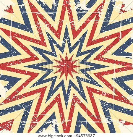 Vintage design background template. Vector illustration