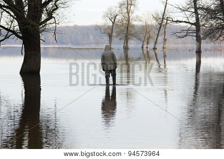 Man on the river