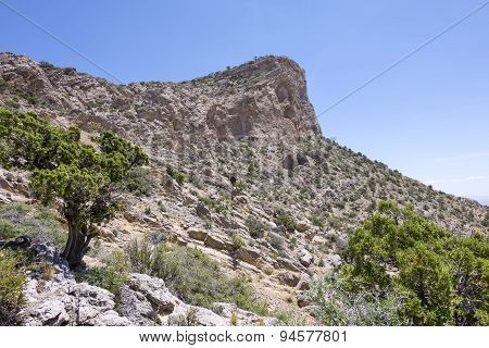 Turtle Head Peak In Red Rock National Conservation Area, Nevada