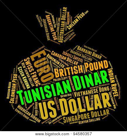Tunisian Dinar Means Worldwide Trading And Coinage