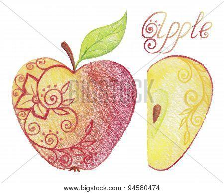 Sketchy Apple