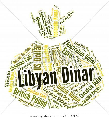 Libyan Dinar Means Currency Exchange And Coin