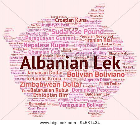 Albanian Lek Means Exchange Rate And Broker