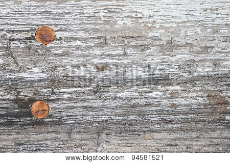 Rustic Wooden Plank