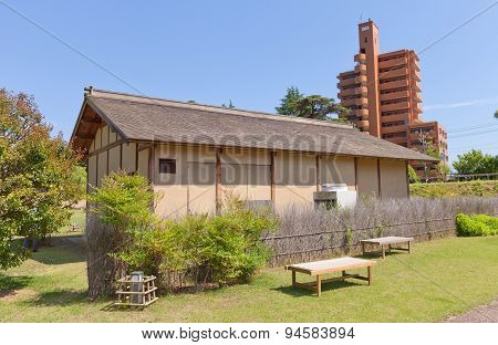 Reconstructed Samurai House In Matsuyama, Japan