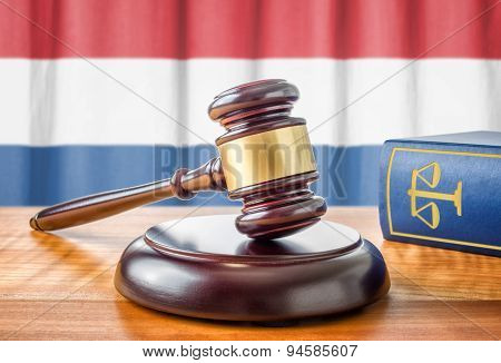 A Gavel And A Law Book - Netherlands