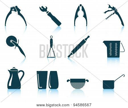 Set Of Utensil Icons
