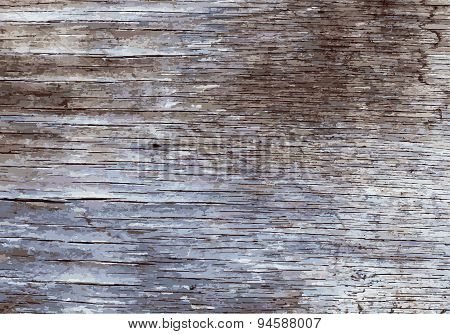 Old Painted Wooden Texture.