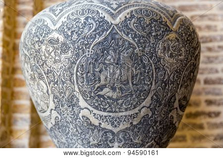 Vase ditail souvenir from Shiraz