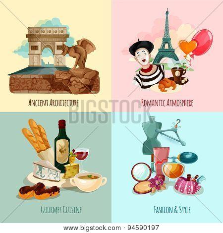 Paris Touristic Set