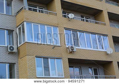 Loggia Glazing