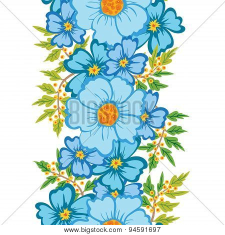 Seamless Floral Ornament.