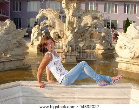 The Girl And The Fountain
