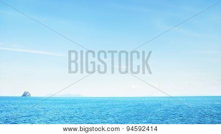 Rock in a Sea
