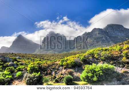 Table Mountain - Cape Town, South Africa Coast